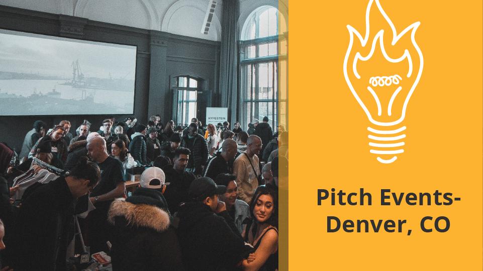 Pitch Events Denver Colorado