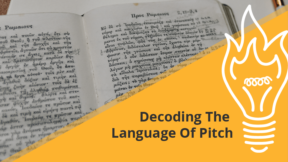 Decoding The Language of Pitch