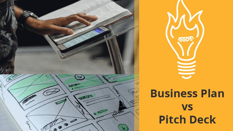 Business Plan vs Pitch Deck