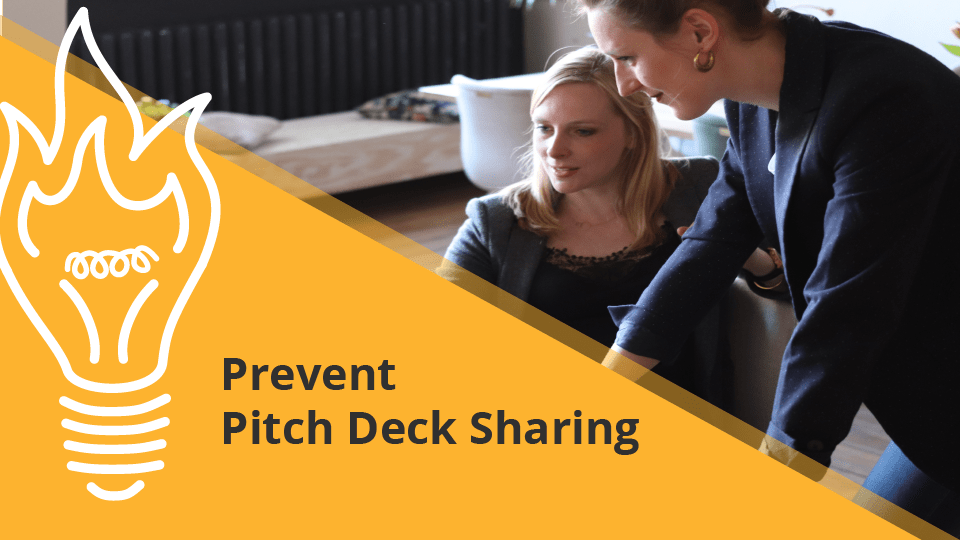 Prevent Pitch Deck Sharing