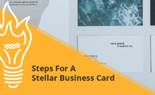 Steps For A Stellar Business Card