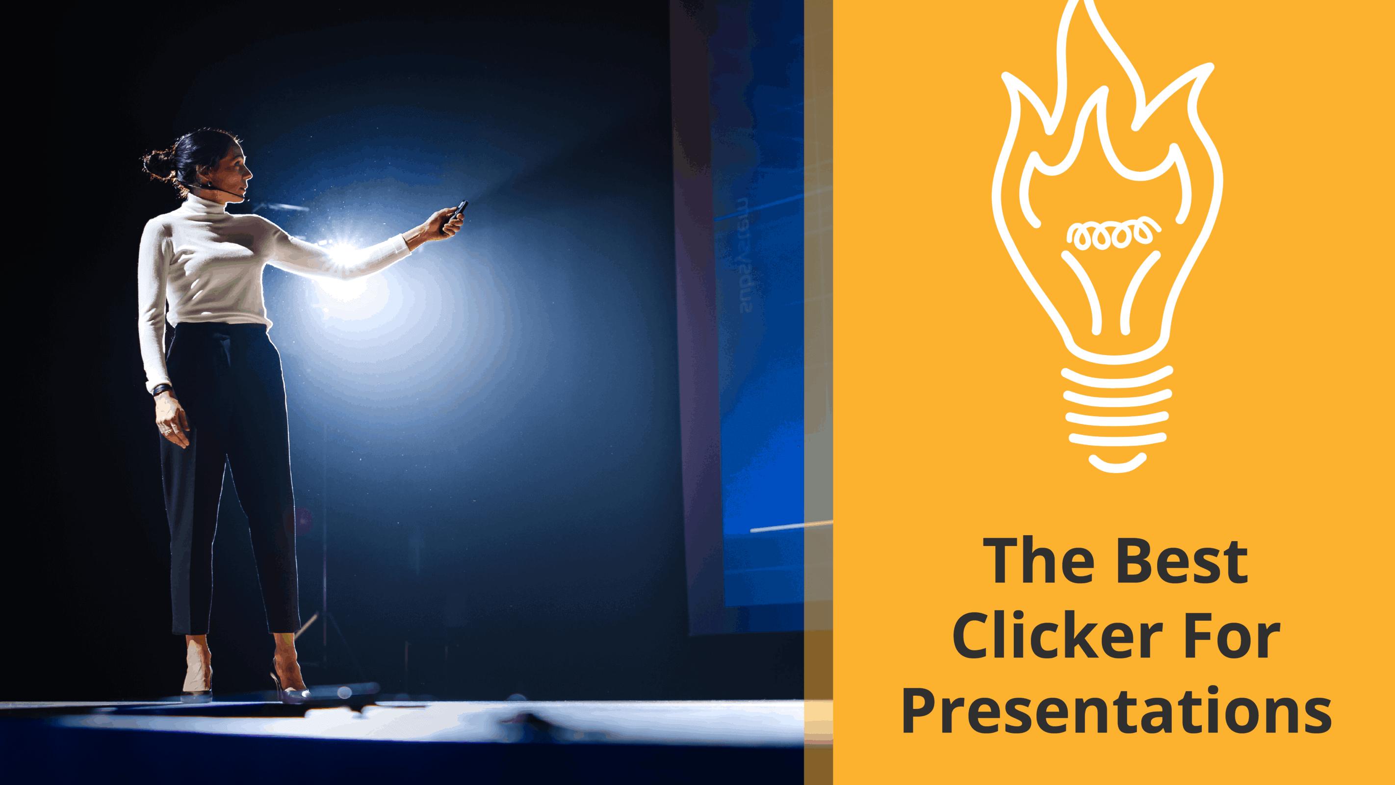 presentation clicker recommendations