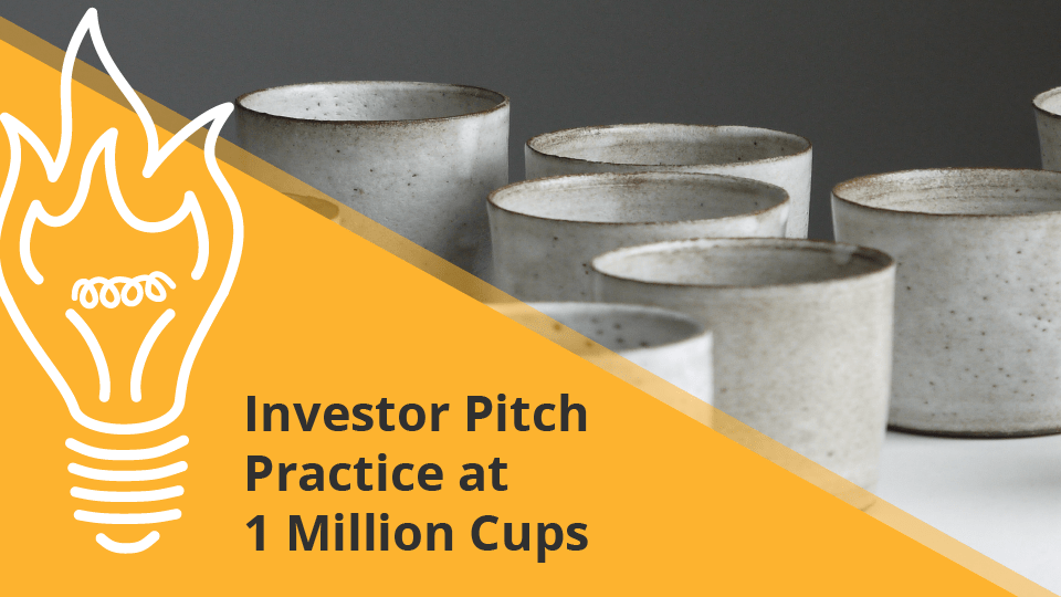 Investo Pitch Practice At 1Million Cups