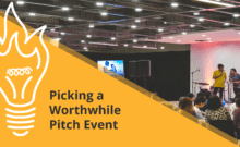 Pitch worthwhile events