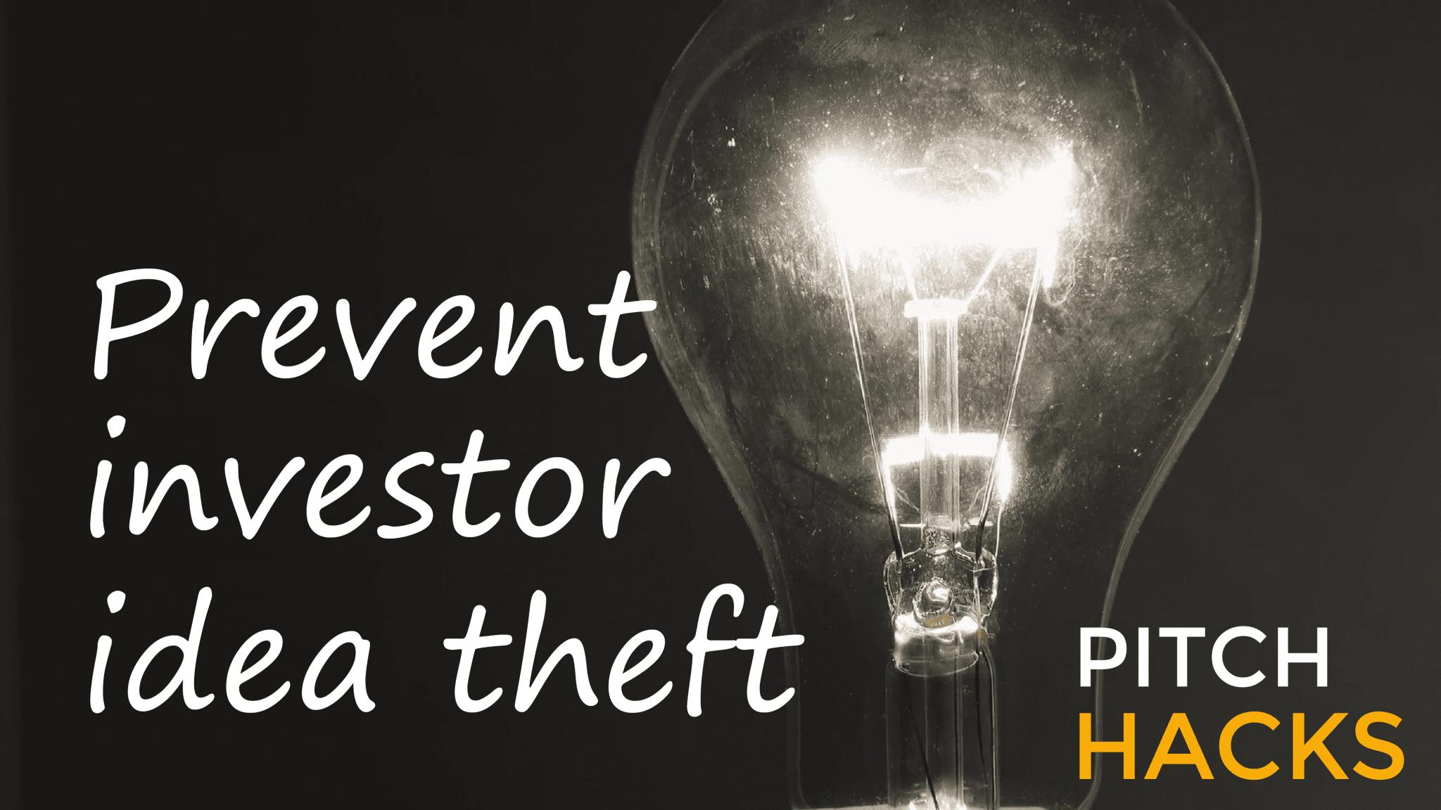 Investor Idea Theft