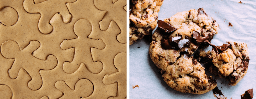 Pitch deck template cookies