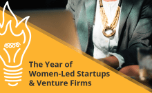 Women in startups and venture firms - pitch deck