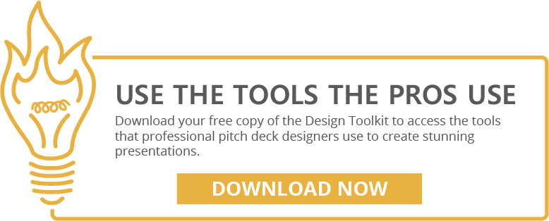 Tools to create a pitch deck design